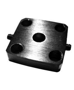 Bloque de montaje para eje de 5mm Mounting Hub, Natytec.
