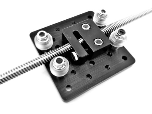 Bloque tuerca Acme Anti-backlash 8mm Tr8x8, Natytec.