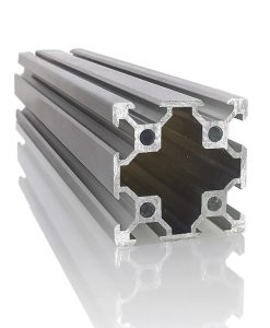 Perfil de Aluminio Estructural para CNC 40x40 Precio Economico.