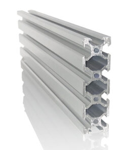 CNC Router Perfil Aluminio Ranurado