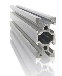 Perfil de Aluminio Ranurado V 20x40 para CNC y Proyectos de Automatización en venta.
