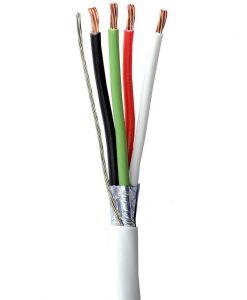 Cable 4 vías calibre 18 AWG, Natytec.