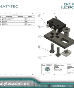 Interruptor de límite Limit Switch CNC ROUTER