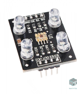 Modulo Sensor De Color Tcs230 Arduino Pic, Módulo Sensor de Color TCS230, NATYTEC CDMX.