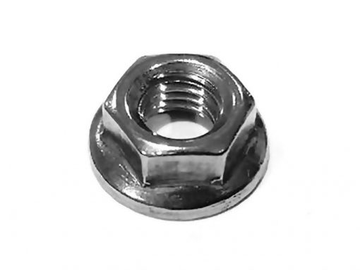 Tuerca brida dentada M5, Serrated Flange Nut, Natytec.