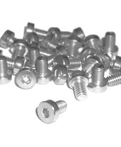 Tornillo Allen M4 6mm, Cabeza reducida galvanizada, low head screw, Natytec.