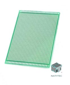 Placa Fenolica Perforada PCB una cara 8×12cm