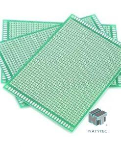 placa fenolica perforada Precio PCB una cara 8×12 cm,0