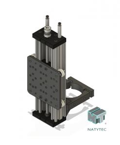 Actuador Z CNC Router 250mm Natytec